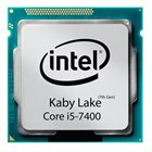 پردازنده اینتل کبی لیک Core i5-7400 سوکت 1151 Intel Core i5-7400 Kaby Lake:3.0GHz LGA 1151 CPU