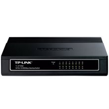 سوئیچ 16 پورت تی پی لینک TL-SF1016D-TP-Link TL-SF1016D 16 port 10-100 Desktop:Switch