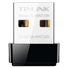 کارت شبکه USB بی‌ سیم N150 Nano تی پی-لینک TL-WN725N-TP-LINK TL-WN725N Wireless N150 Nano USB:Network Adapter