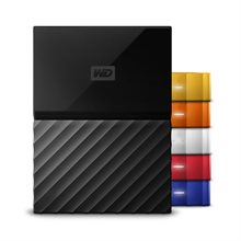 هارداکسترنال وسترن دیجیتال 2 ترابایت My Passport-Western Digital My Passport Stylish 2TB:External Hard Drive