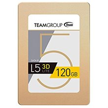 حافظه SSD تیم گروپ مدل L5 LITE 3D ظرفیت 120 گیگابایت-Team Group L5 LITE 3D 2.5 1TB SATA III 3D NAND : Internal SSD Drive T253TD120G3C101