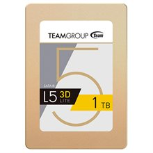 حافظه SSD تیم گروپ مدل L5 LITE 3D ظرفیت 1 ترابایت-Team Group L5 LITE 3D 2.5 1TB SATA III 3D NAND : Internal SSD Drive T253TD001T3C101
