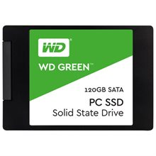 حافظه SSD وسترن دیجیتال مدل Green WDS120G1G0A ظرفیت 120 گیگابایت-Western Digital Green 120GB Internal SSD Drive : WDS120G1G0A