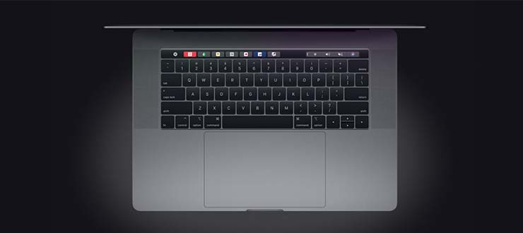 لپ‌تاپ Apple MacBook Pro 2018
