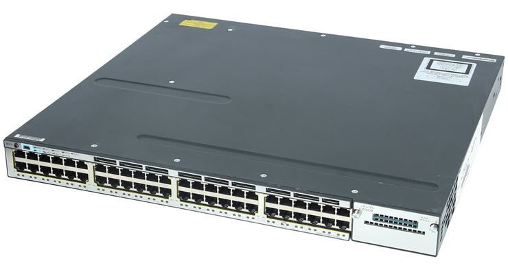 Cisco WS C3750X 48T S switch