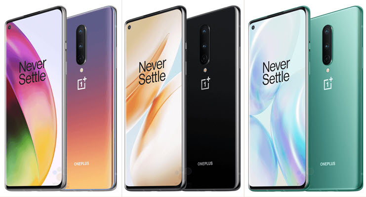 OnePlus 8 and OnePlus 8 Pro